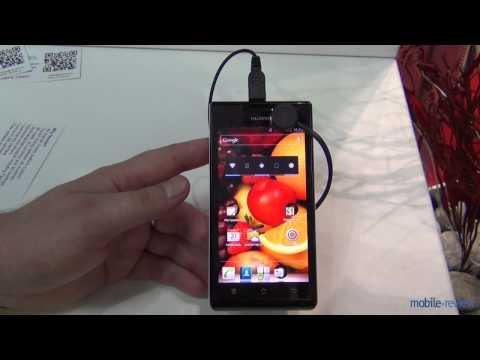 Знакомство с Huawei Ascend P1