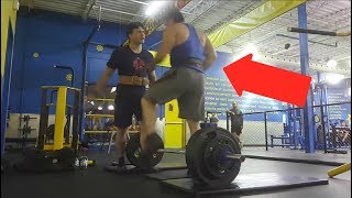 Kid Gets ATTACKED For Deadlifting In A Gym