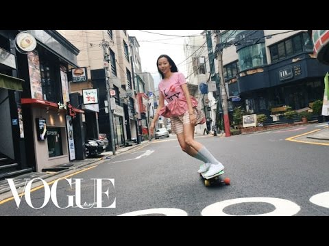 South Korean Longboarder Ko Hyojoo Rolls Through Seoul in Style