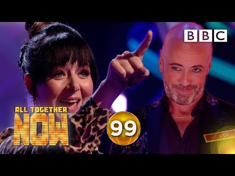 SO CLOSE! Incredible Shellyann denied 100 🤦‍♀️ - BBC All Together Now 🎤
