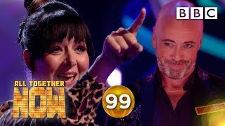 PAULUS GET UP! Shellyann denied perfect score ️ - BBC All Together Now