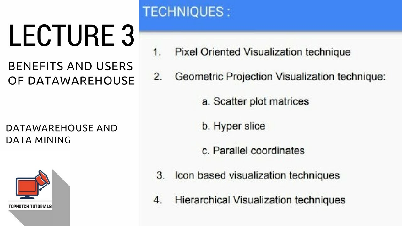 Data Mining : Data Visualization Techniques