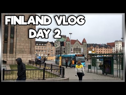 HELSINKI ADVENTURES!! | FINLAND VLOG DAY 2
