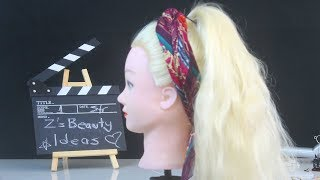 Quick Summer Hairstyle Tutorial |  Summer hairstyles | Hairstyle for the Beach
