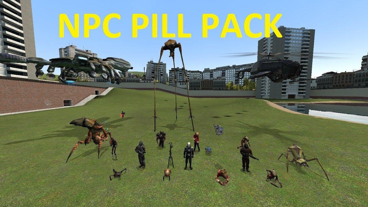 BE A NPC - PARAKEETS PILL PACK - GMOD