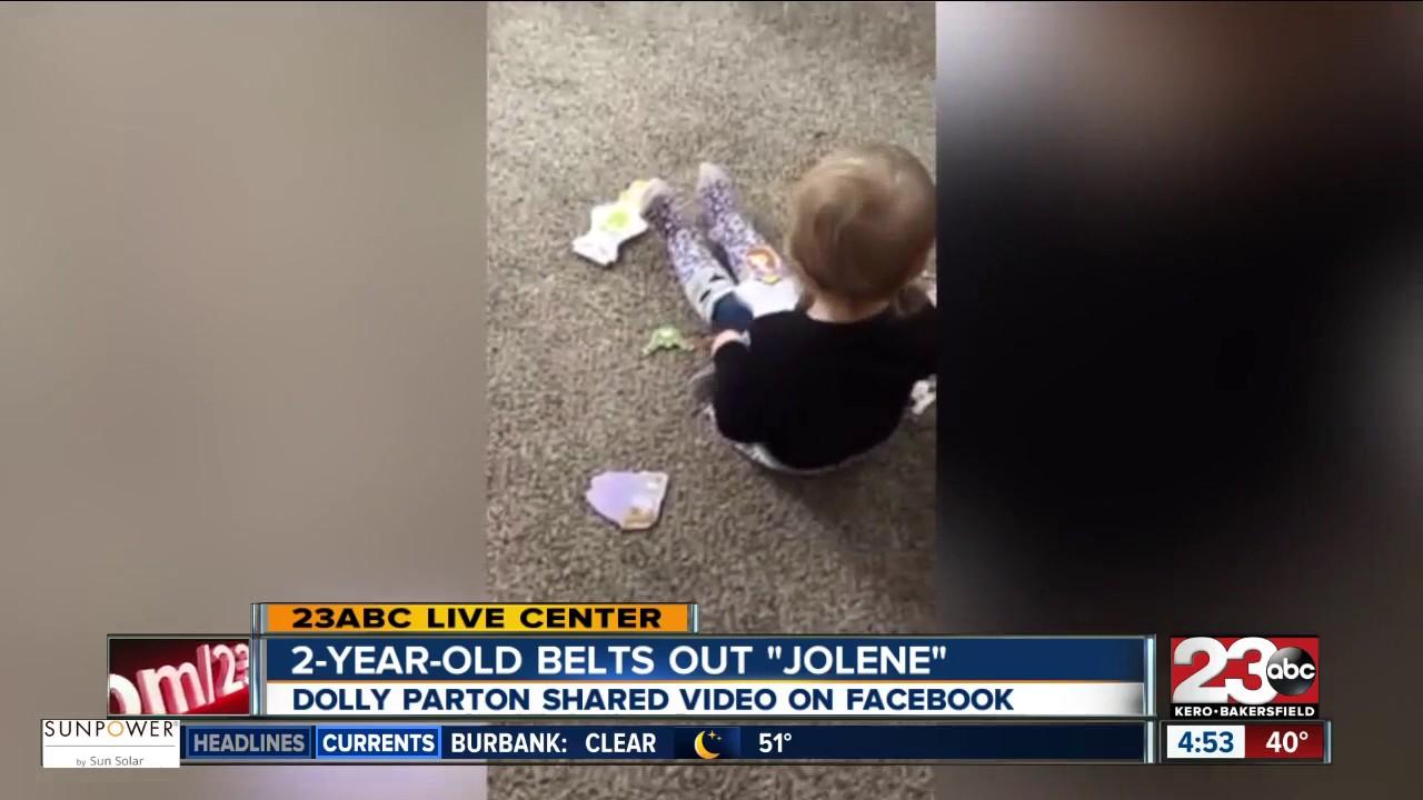 dolly parton shares video of baby singing u0027jolene u0027 youtube