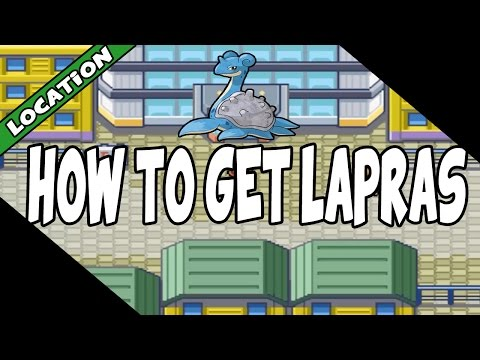 Where To Get A Lapras On Pokemon Fire Red