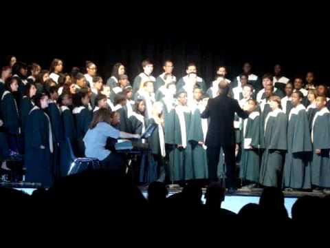 winslow township high school concert chior winter concert 2010