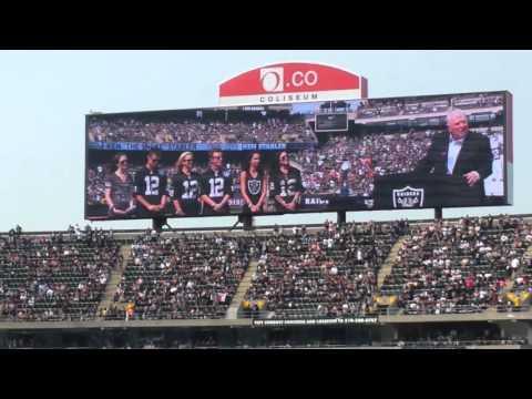 John Madden gives a speech on Ken Stabler