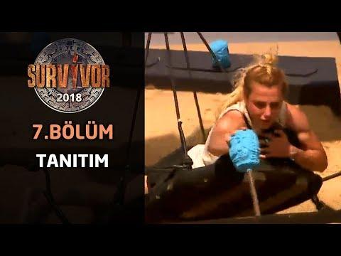 Survivor 2018  7. Bölüm Fragmanı | Survivor 2018'in ilk dokunulmazlık oyunu geldi çattı!
