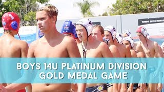 2019 Junior Olympics 14u Boys Platinum Division Gold Highlights