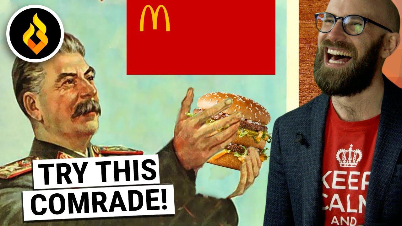 More COLLOSAL Marketing Fails: Communists VS The Big Mac