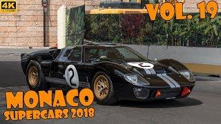 SUPERCARS IN MONACO 2018 - VOL. 19 (Chiron, Apollo, LaFerrari, 918 Spyder, etc ... ) [2018 4K]