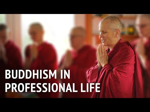 Buddhism in professional life