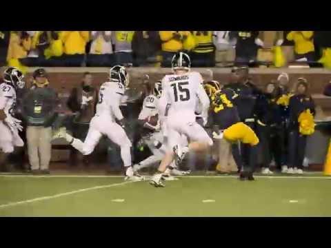 Michigan State stuns Michigan on final play of game (2015)
