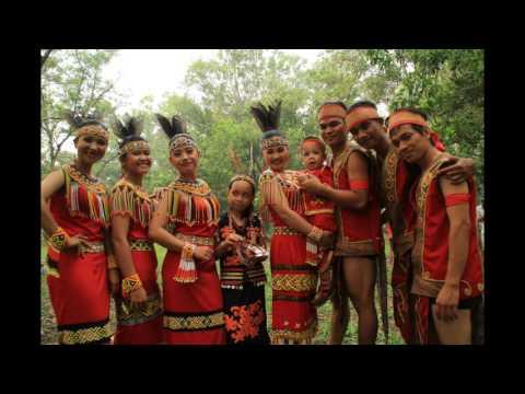 Lirik Borneo Menari (Fausta & Dea)