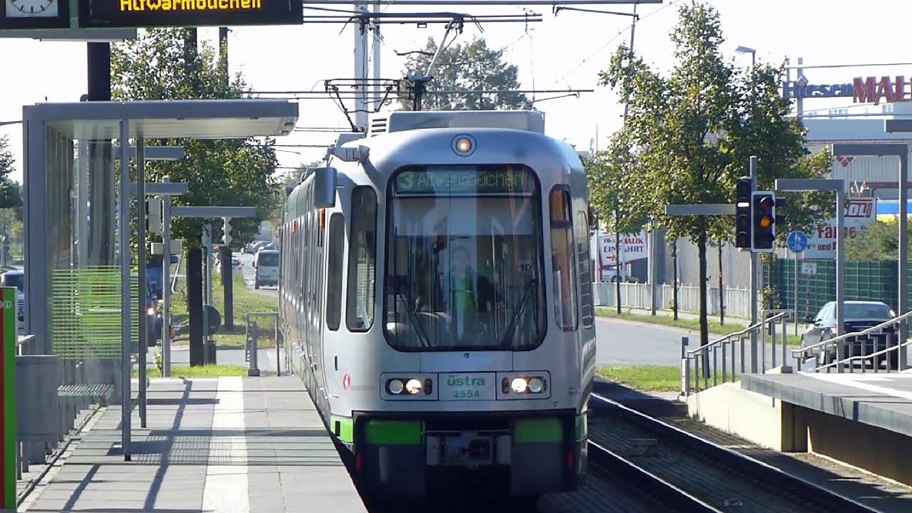 linie 3 altwarmb chen ernst grote stra e stadtbahn hannover youtube