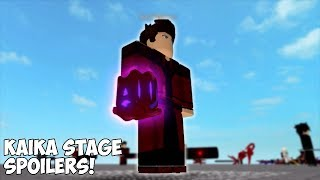 NEW KAIKA STAGE SPOILERS! | Ro-Ghoul | Roblox