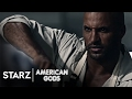 American Gods clip sees Ricky Whittle's Shadow Moon learn lesson about life after prison