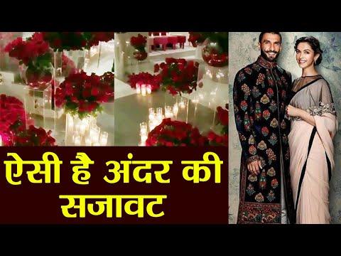 Deepika - Ranveer Wedding : Inside Decoration of rooms at Lake Como; Watch Video | FilmiBeat