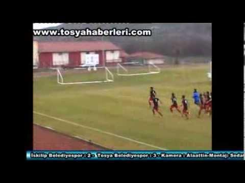 iskilip belediyespor2  tosya belediyespor3 maç özeti