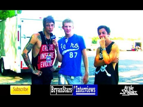 At The Skylines Interview Chris Shelley & Billy Barber 2012