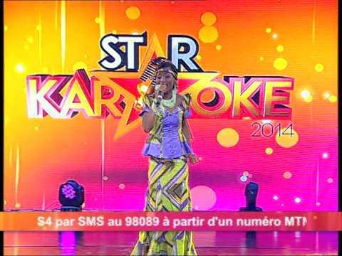 Star Karaoké 2014 chant au choix avec Roséline