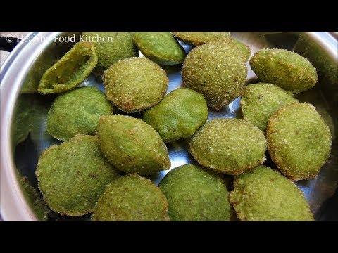 Evening Snacks Recipe in tamil/Madurai Special/ Puri for Pani Puri Recipe/Mullu Murungai Vadai