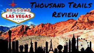 Las Vegas Thousand Trails RV Resort Review
