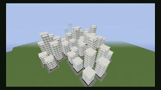 Hacer una ciudad en 15 segundos!!! Ciudad comando #Minecraft