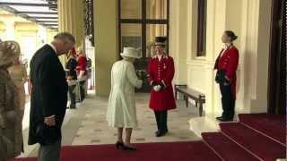 Royal Procession to Buckingham Palace - Diamond Jubilee