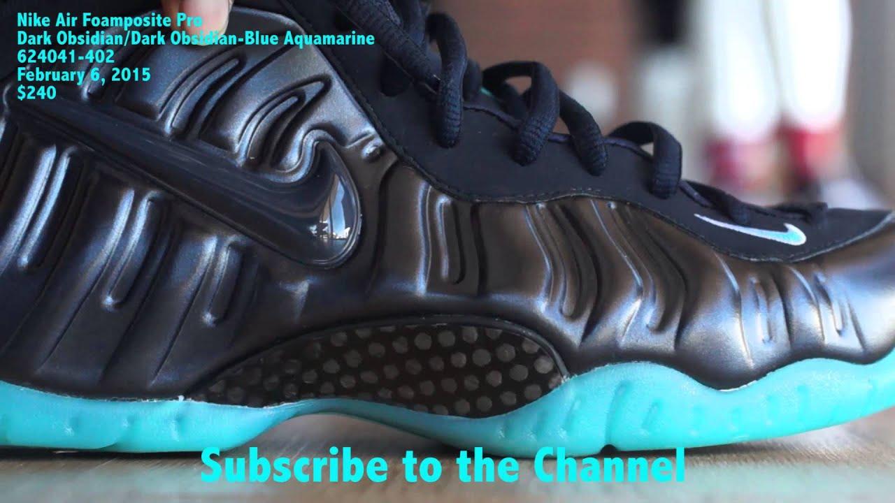 "fb79006f5b9 Nike Air Foamposite Pro ""Dark Obsidian"" - YouTube"