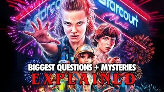 STRANGER THINGS 3 Biggest Questions Mysteries Explained