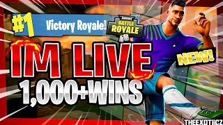 TOP PS4 SOLO PLAYER! NEW* SOCCER SKINS! | 950+ SOLO WINS | Fortnite Battle Royale LIVE