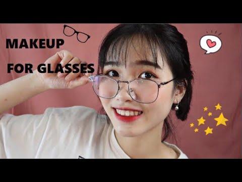 Makeup Hằng Ngày Cho Nàng Đeo Kính,Makeup For Glasses l Minh Ngọc