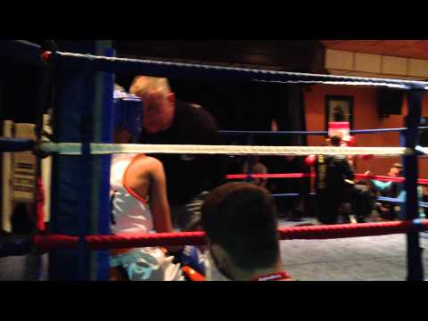 Haleem Ali 2nd fight(hall green boxing)