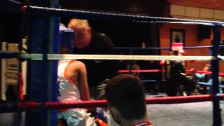 Haleem Ali 2nd fight(hall green boxing)