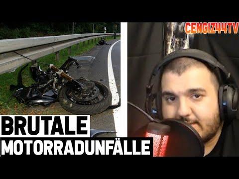 Cengiz44TV   Motorrad Crash Reaction   Aua Aua