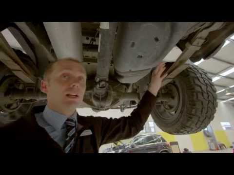 Volkswagen Amarok 1: Under-body Strength