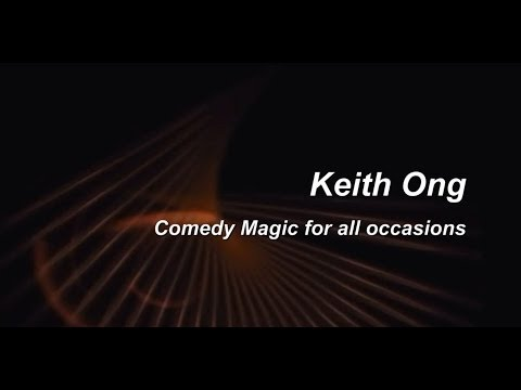 Keith Ong Singapore Magician - comedy magic for all occasion