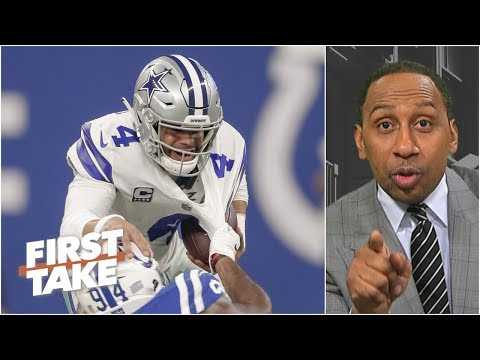 Stephen A. excited by a potential Dallas Cowboys collapse | First Take