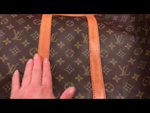 How to spot clean your Louis Vuitton Monogram: vachetta leather part 1