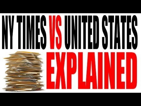 The NY Times Co. vs the United States of America Explained: US History Review