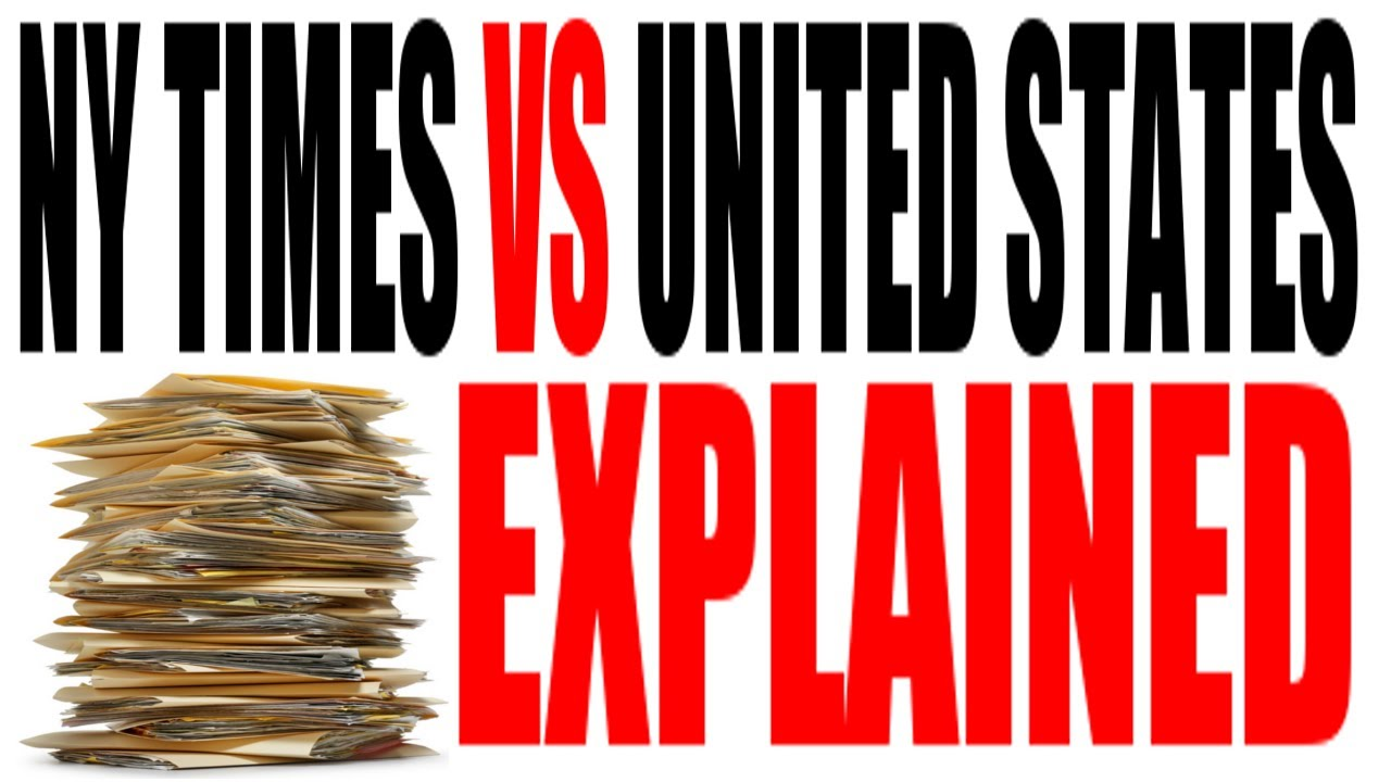 The NY Times Co Vs The United States Of America Explained US - Is new york in the united states
