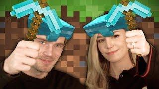 We Finally Play Minecraft! - Minecraft With Marzia - Part 1