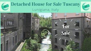 Village House for Sale Lunigiana | AZ Italian Properties | Detached House with garden Lunigiana