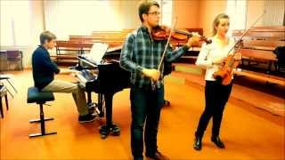 The Lion King - This land for two violins and piano