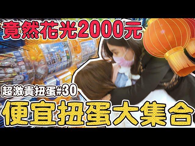 【超激貴扭蛋#30】兩千元轉光所有便宜扭蛋!哈姆太郎 庫洛魔法使 超好看!可可酒精