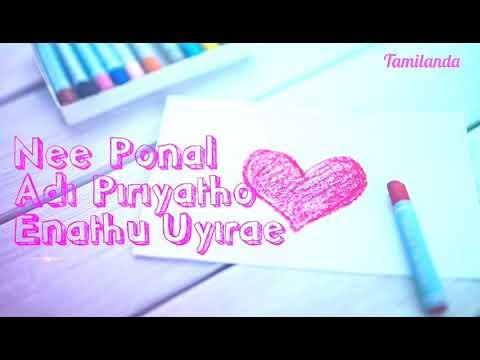 Vilagaadhae Enadhuyirae|Tamil WhatsApp...