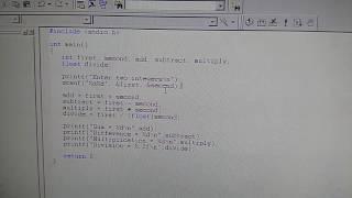 Hoe maak je een eenvoudige rekenmachine op ac-programma